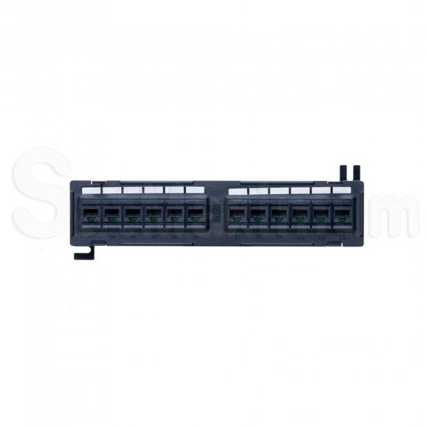 Cat6 Patch Panel, SatMaximum - 12 ports