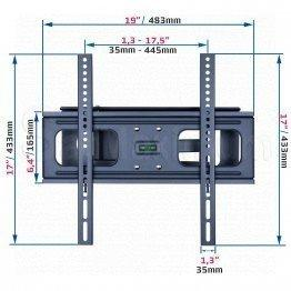 Full Motion Articulating Heavy Duty Wall Mount for 32-55 Inch