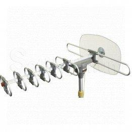 Long Range Amplified Outdoor HD Digital Rotating Antenna