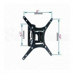 TV Wall Mount Tilt Swivel 13 - 37 Inch LED LCD Bracket VESA 75-200