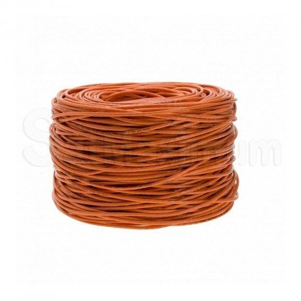 1000 FT CAT6 UTP solid Network Ethernet LAN Cable,Bulk wire, SatMaximum