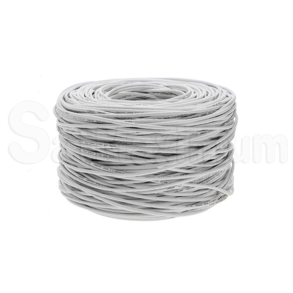 1000ft CAT5e Cable BULK UTP FTP Ethernet Network LAN Wire RJ45 Solid 24AWG Cat 5
